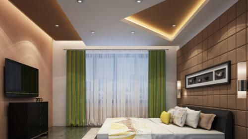 When You Enter The Bedroom You Relax You Leave The World Behind It S Only Fitting Bedroom False Ceiling Design Ceiling Design Bedroom Ceiling Design Modern