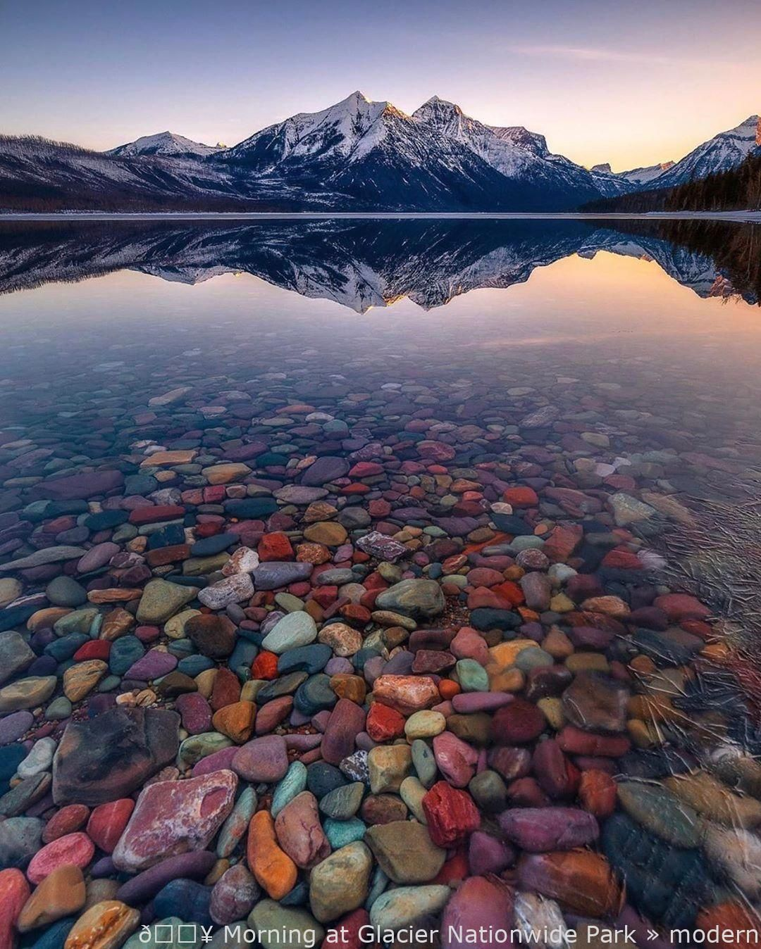 Morning at Glacier Countrywide Park  formidable   Morning at Glacier Countrywide Park  formidable nature  diy  life  pictures beautiful  nature pictures