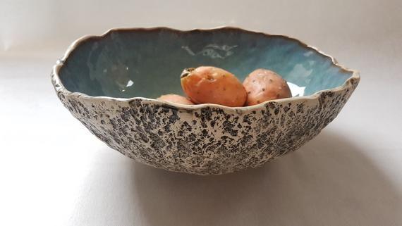 Handicraft Ceramic Serving bowl//Salad Bowl//Pasta Bowl//Fruit Bowl 200 ML