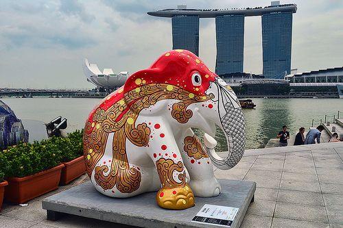 Elephant Parade - Temasak