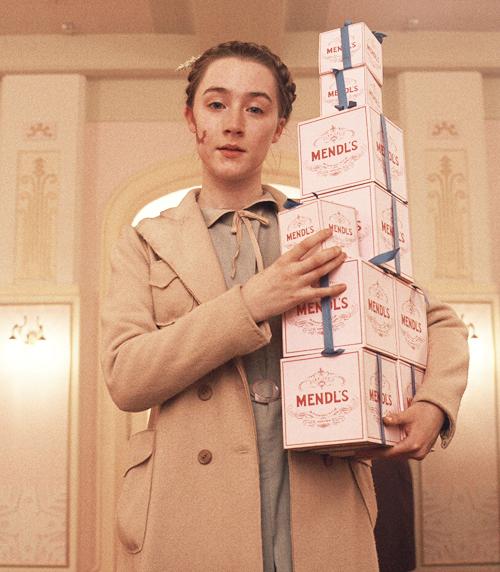 The Grand Budapest Hotel (2014) - Saoirse Ronan as Agatha
