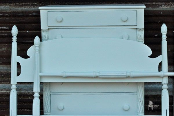 Benjamin Moore White Dove painted furniture set Decorate It - Used Bedroom Sets
