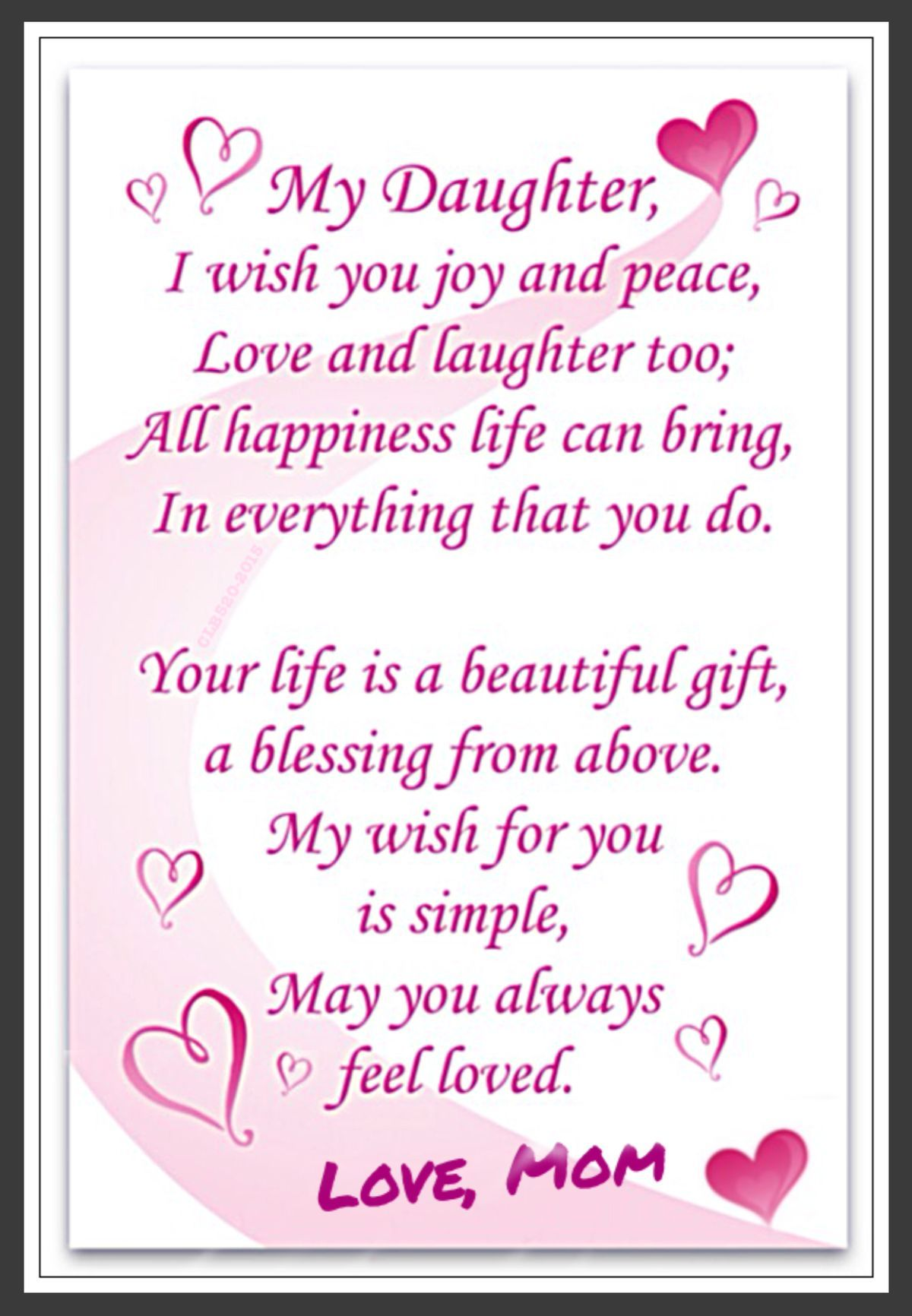 image result for christian birthday cards for daughter