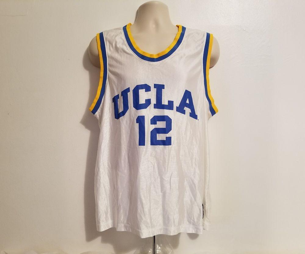 Details About Vintage Men S Ucla Bruins 12 Reebok College Basketball Jersey Adult Size 2xl Jersey Ucla Basketball Ucla Bruins Basketball Jersey