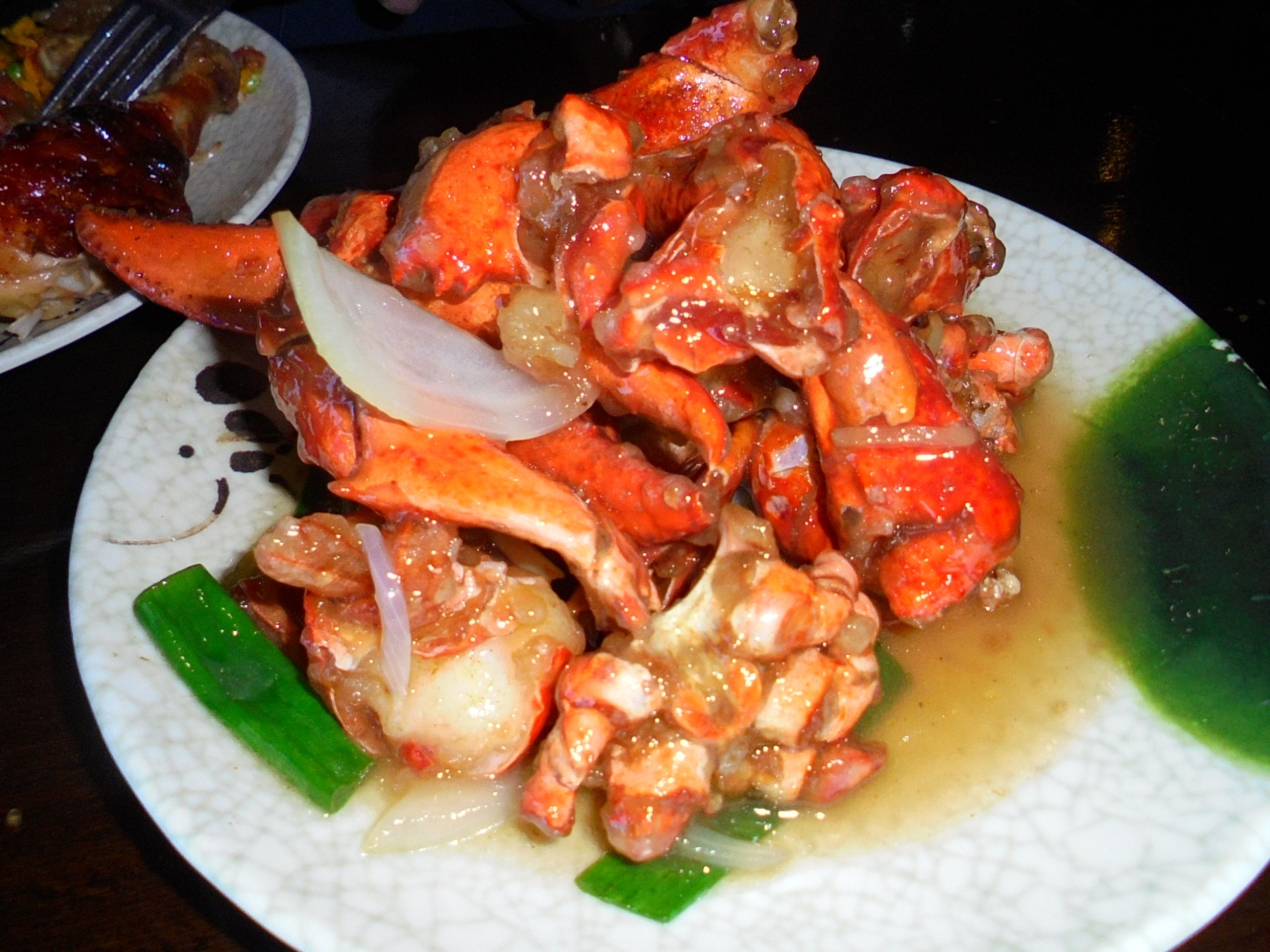 #Hibachi style #Lobster in #Ginger and #butter sauce - www.drewrynewsnetwork.com