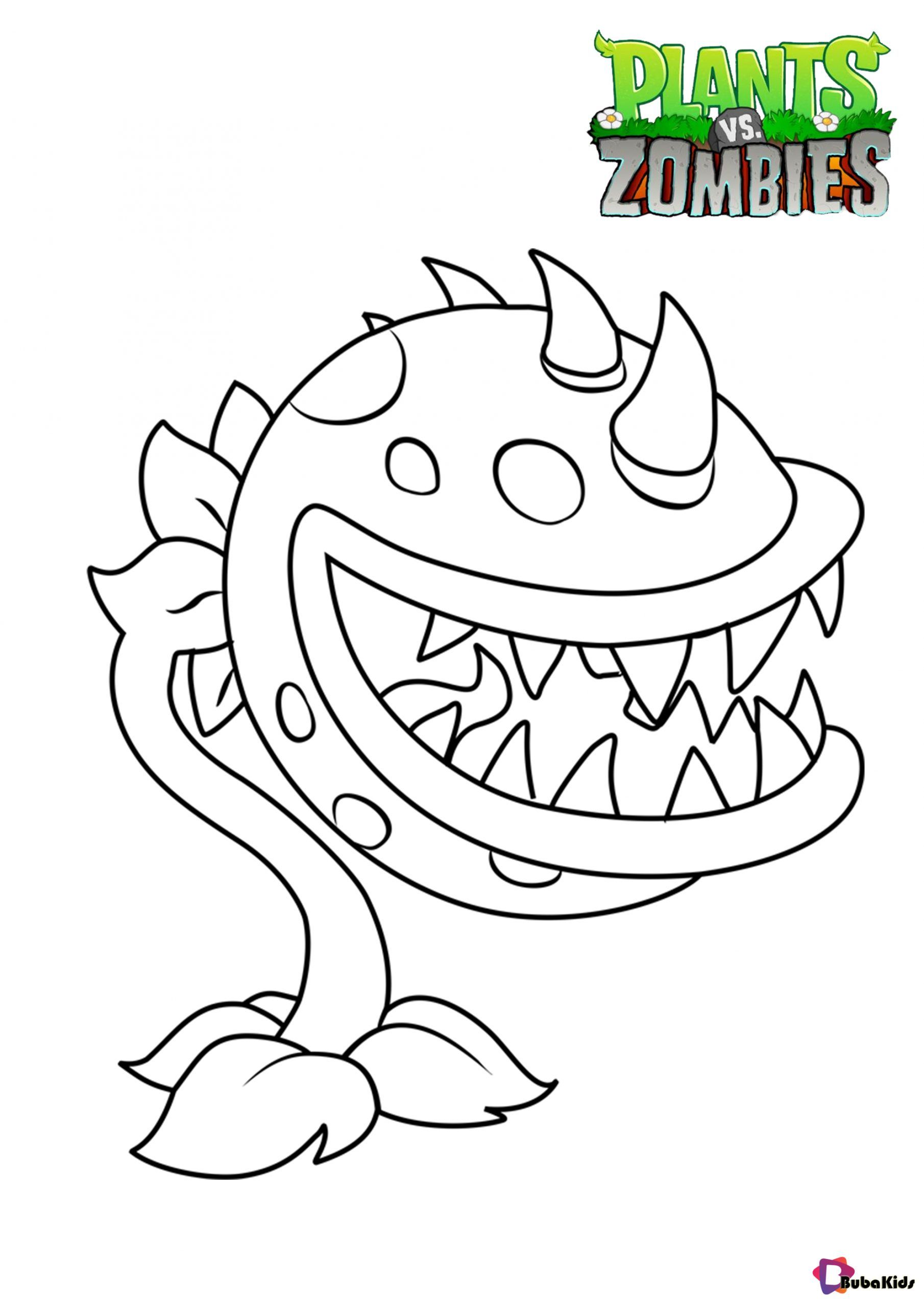 Plants Vs Zombies Chomper Coloring Pages Collection Of Cartoon Coloring Pages For Teenag Precious Moments Coloring Pages Coloring Pages Cartoon Coloring Pages