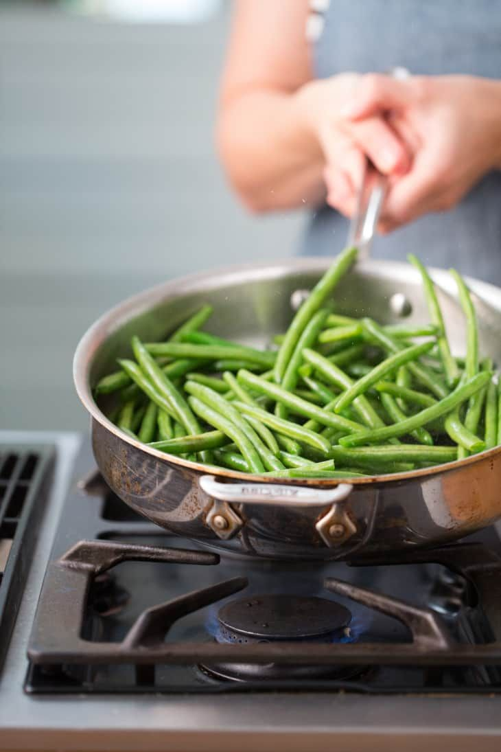 how to cook fresh beans from the garden