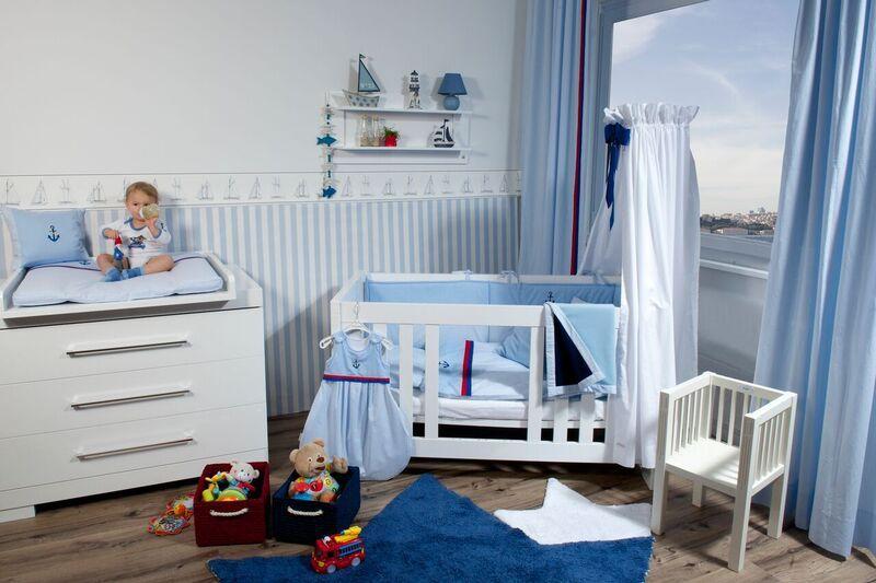 Maritimes Kinderzimmer was für ein wunderschönes und maritimes kinderzimmer mit der anker