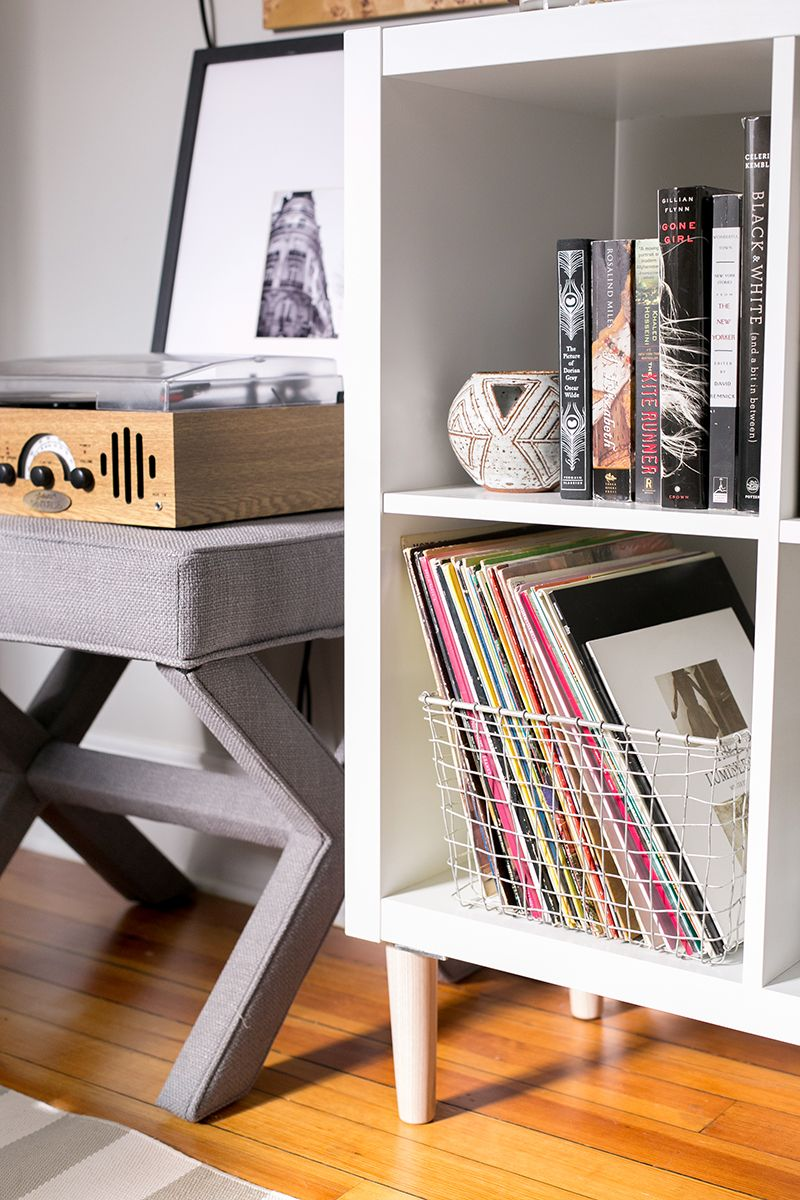 3 ways to style and use ikea's kallax (expedit) shelf | home