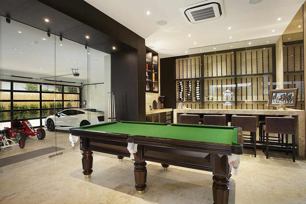 Project borrell street residence 10 luxurious residence in for Living room garage