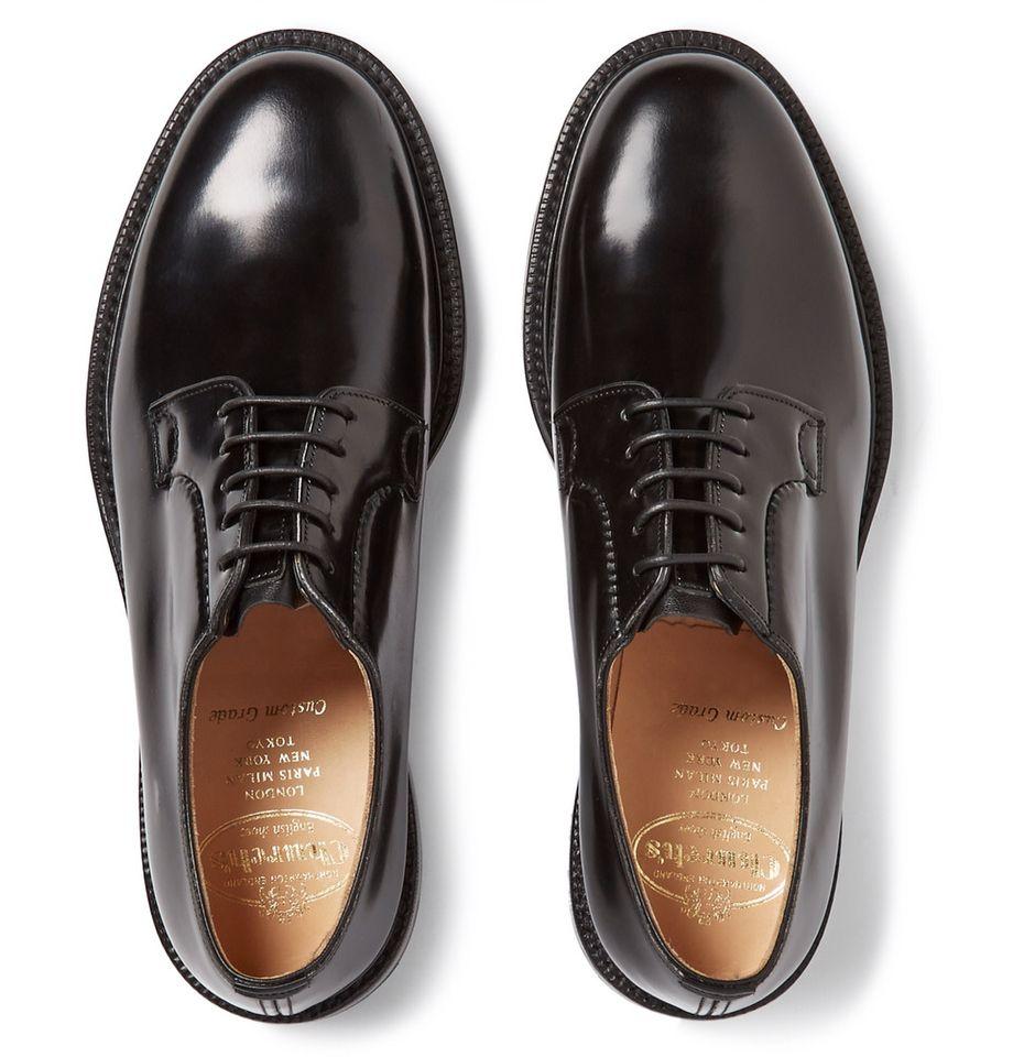 Chaussures Derby En Cuir Église lW0fz2