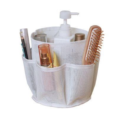 Sweet Home Collection 7 Pocket Quick Dry Cosmetic Bath Shower Counter Cabinet Bin Bag Color: