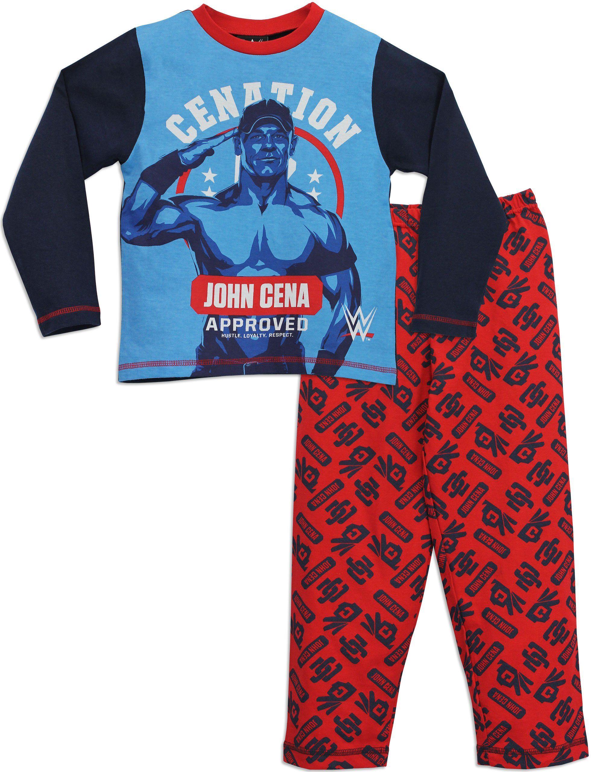 Character Boys\' WWE John Cena Pajamas Size 4 | Christmas Present ...