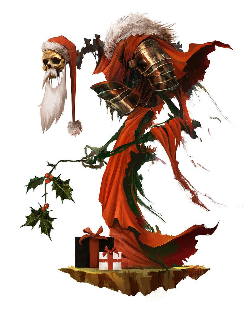 Merry Christmas, Skeleta Claus ! by Eyardt on DeviantArt