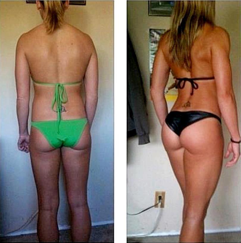 femme de dos avant apr s transformation cellulite entra nement et nutrition pour combattre la. Black Bedroom Furniture Sets. Home Design Ideas