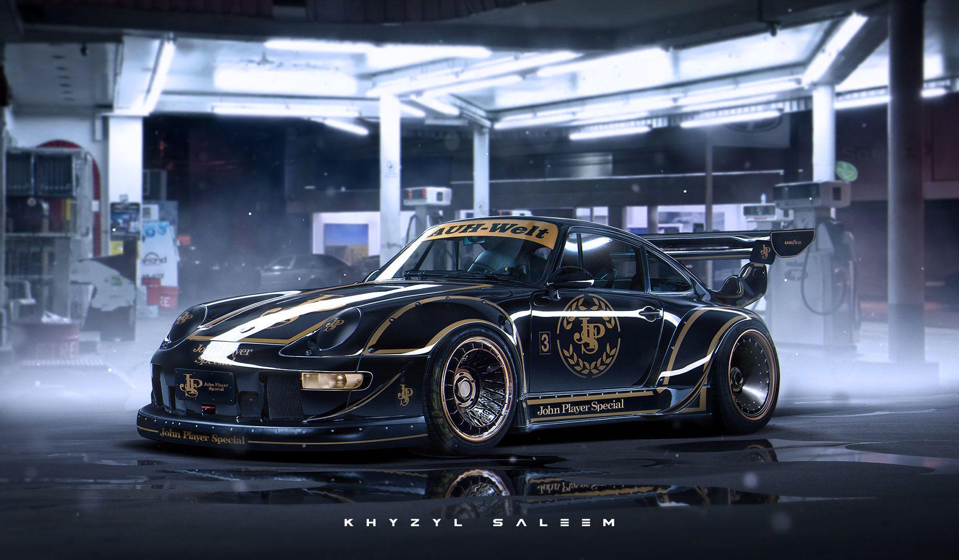 Artstation Rwb John Player Special Khyzyl Saleem Porsche Car Car Artwork