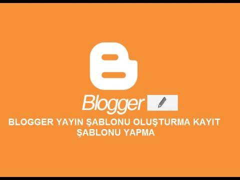 BLOG NASIL AÇILIR KURULUR DÜZENLENİR BÖLÜM 19 YAYIN ŞABLONU NASIL OLUŞTURULUR KAYIT ŞABLONU YAPMA: MERHABA… #Nedir #Blog #BLOGAYARLARI