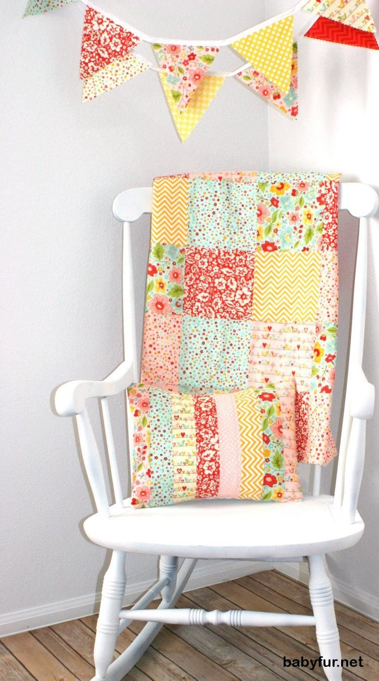 Crib for sale gatineau - Baby Blanket Patchwork Blanket Girl Blanket Nursery Blanket Crib Bedding Yellow