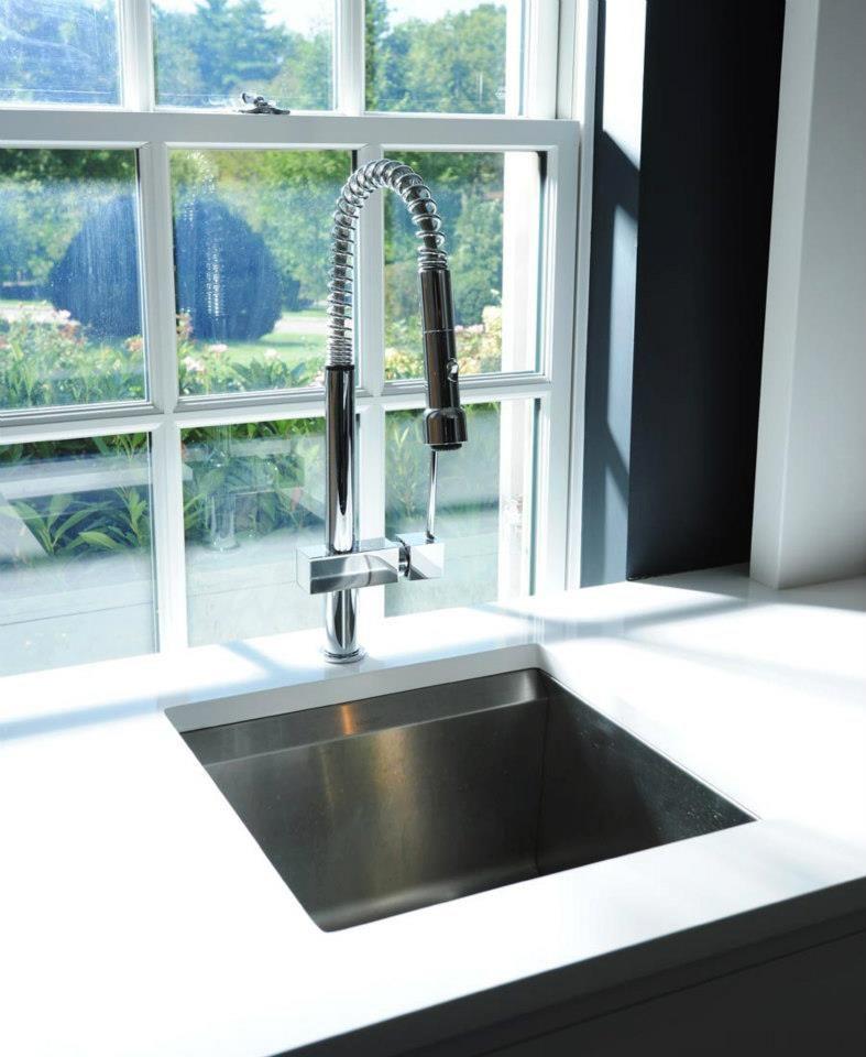 Avado Pull Down Kitchen Faucet & KOHLER Prep Sink   Kitchen, Bar ...