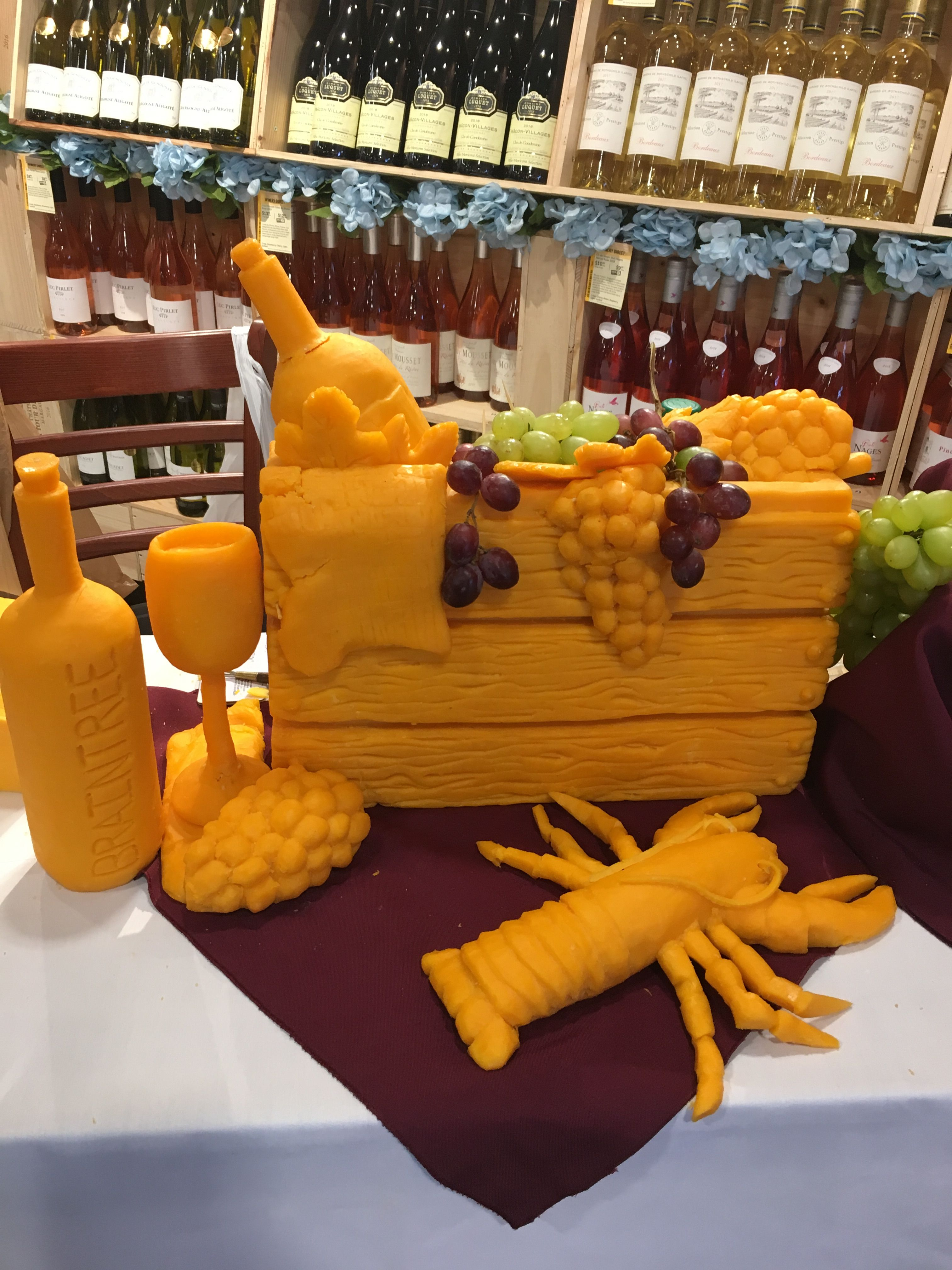 Custom cheese sculpture in 2020 amazing food art food