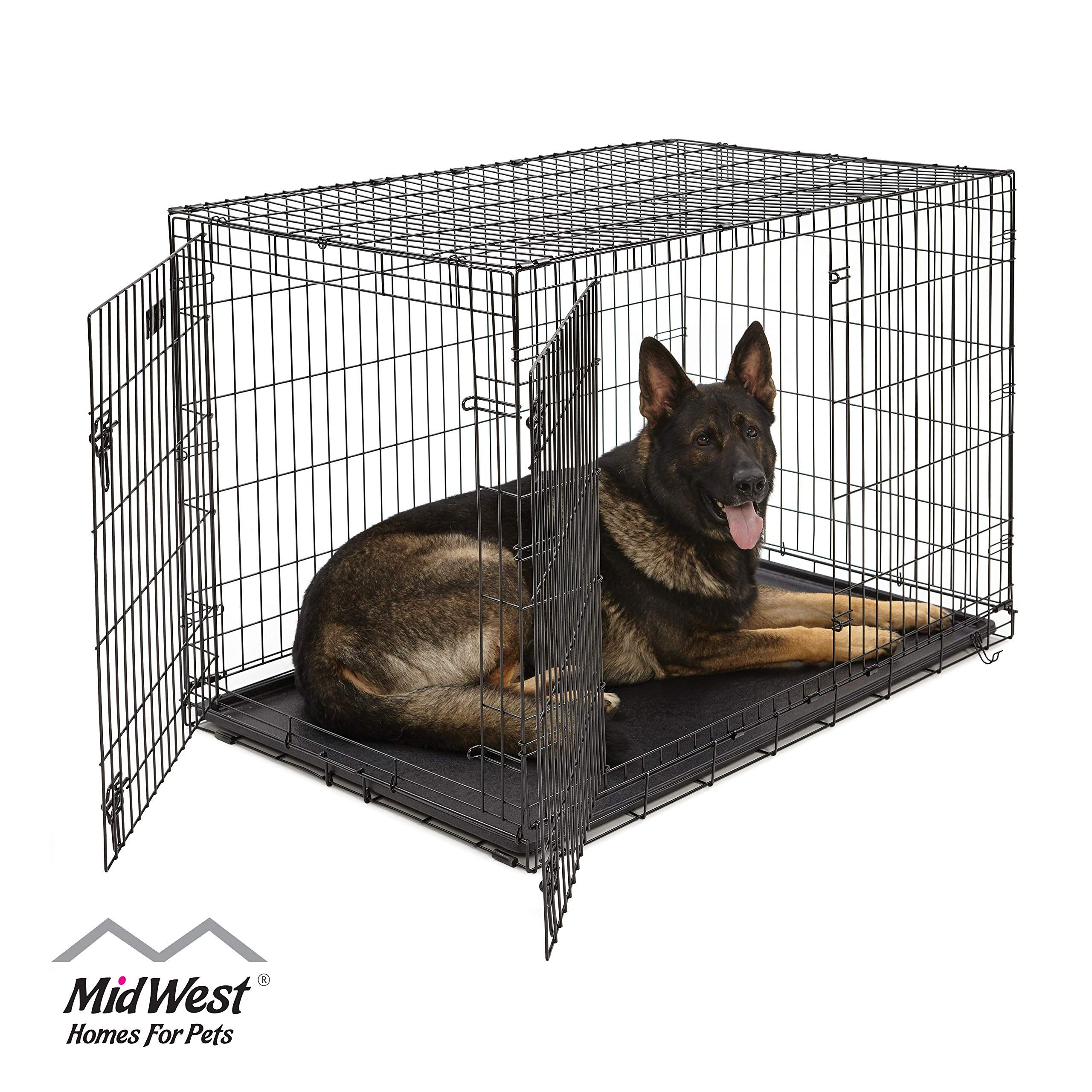Midwest Homes For Pets Dog Crate Icrate Single Door And Double