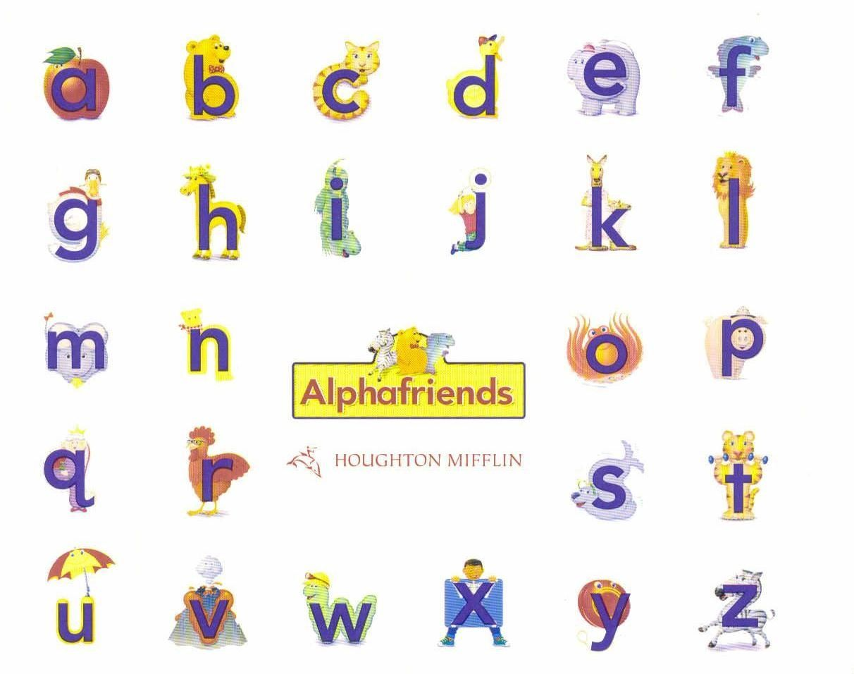 Alphafriends Bingo Other Resources