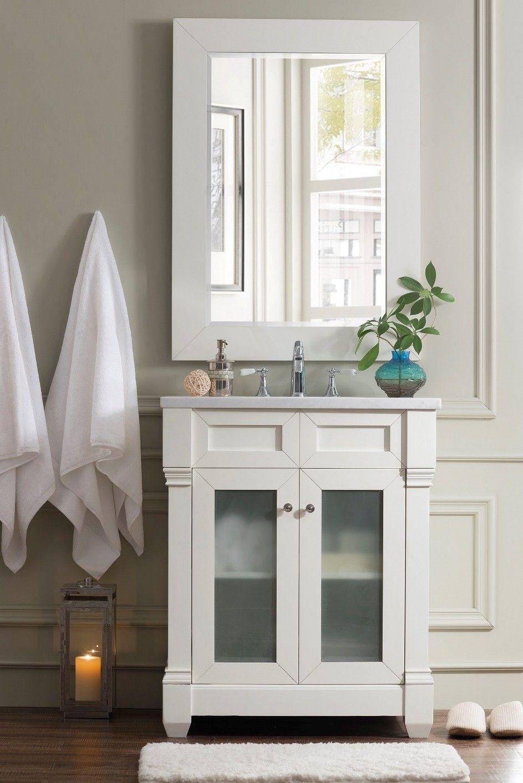 100 Cm Badmobel Landhaus Weiss Shabby Chic Badezimmer Traditionelle Bader Und Badezimmer Einrichtung