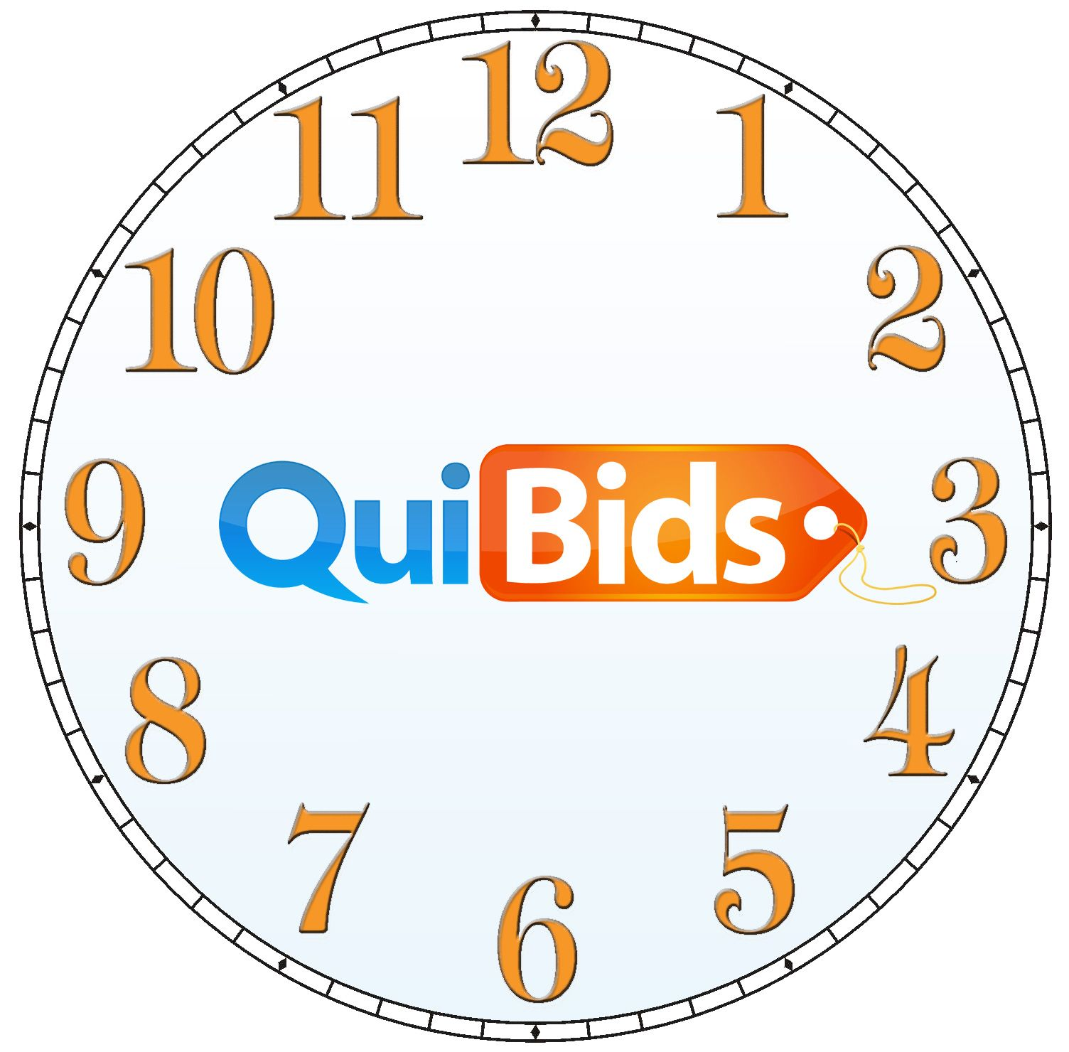 What's your favorite time to visit Quibids? Lettering