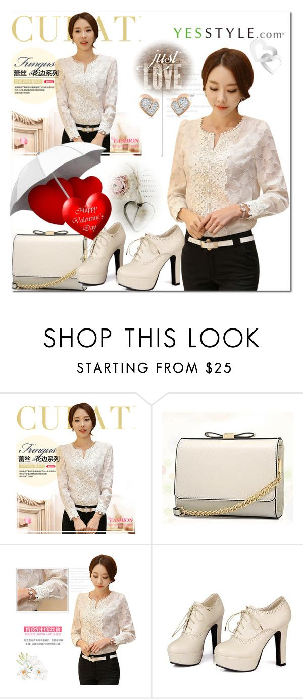 """""""Yesstyle"""" by adanes ❤ liked on Polyvore featuring Eferu, BeiBaoBao, Sidewalk and MaBelle"""