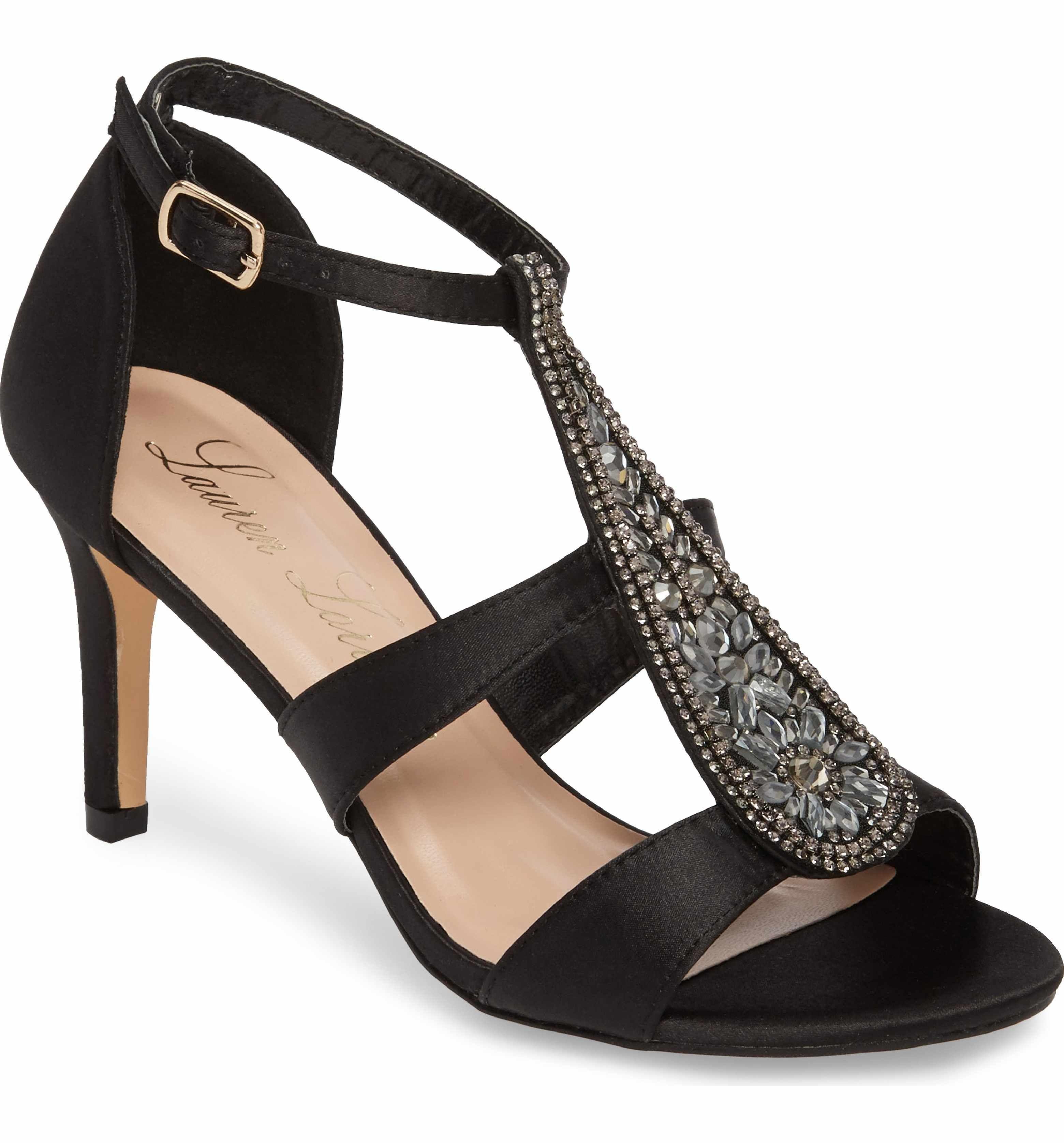 Lauren Lorraine Women's Ritz Crystal Embellished Sandal 0RUFzUGHEh