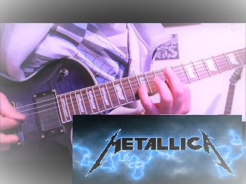 Metallica - For Whom the Bell Tolls - Guitar cover - D tuning ...