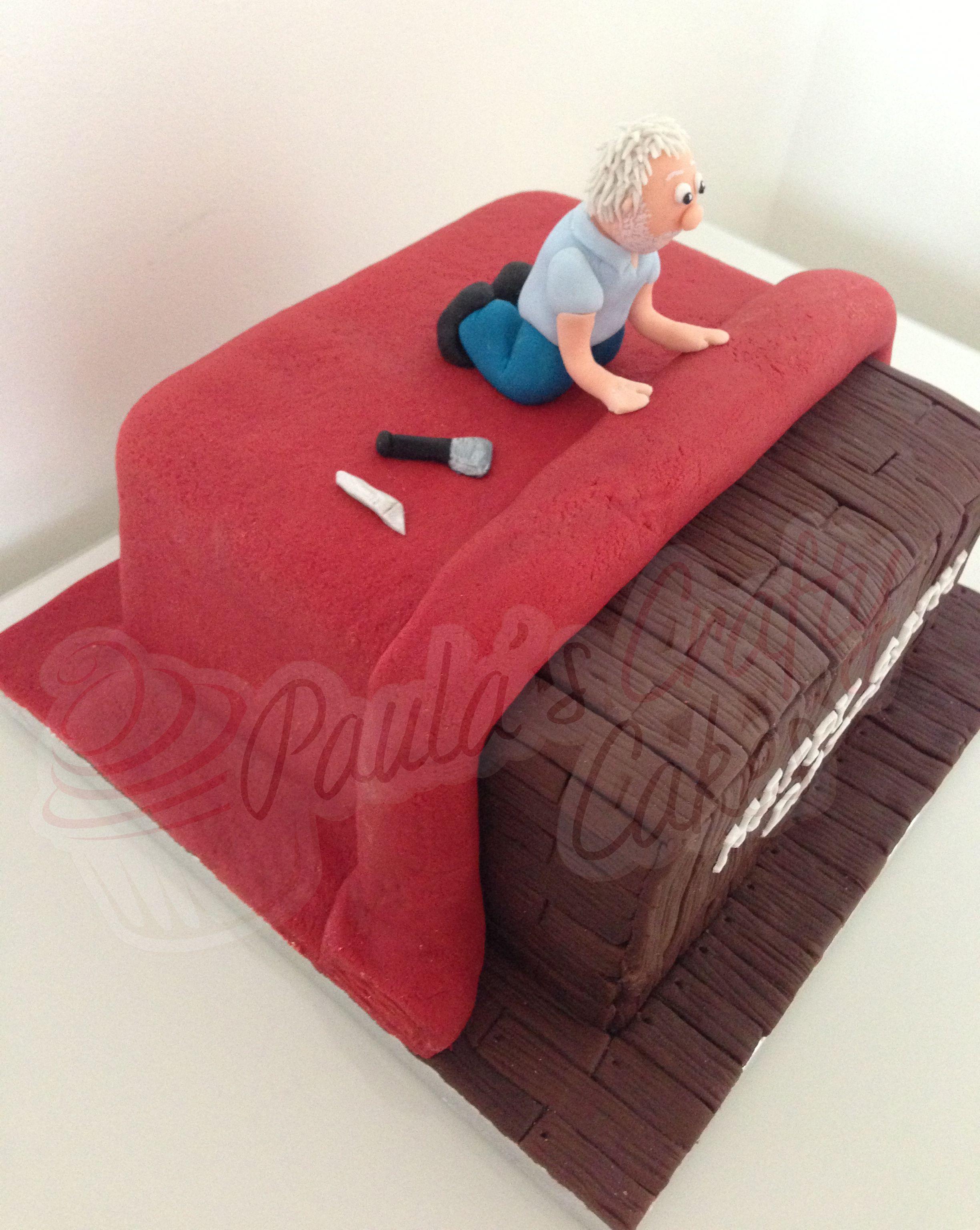 Carpet Fitter Cake