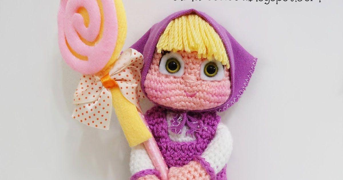 Amigurumi Bebek Tarifleri : Amigurumi maşa maşa ve ayı amigurumi masha amigurumi bebek