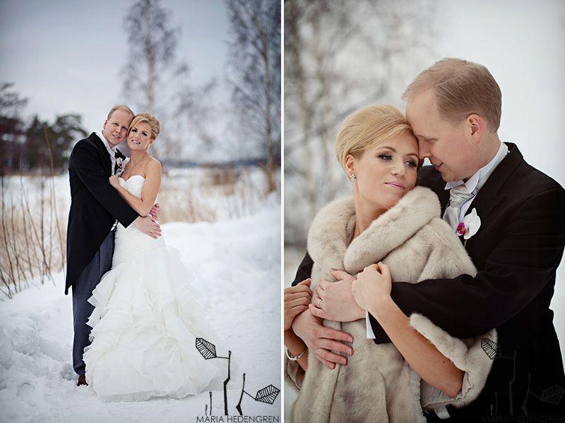 #winter wedding #fur #snow  image by Maria Hedengren.  www.mariahedengren.com