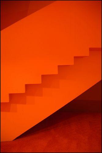 Orange Stairs, Pre-Fall 2012: Macadam Diva