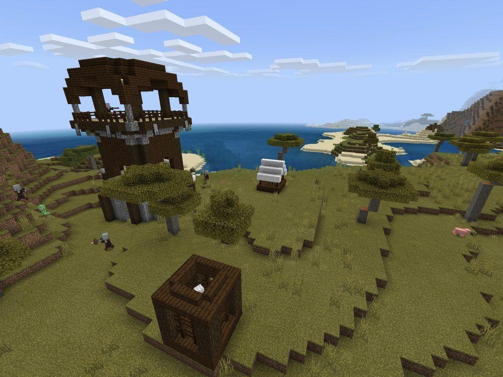 Insane Minecraft Bedrock Edition Seed [PE 122.122122, 122.1222+] - Minecraft