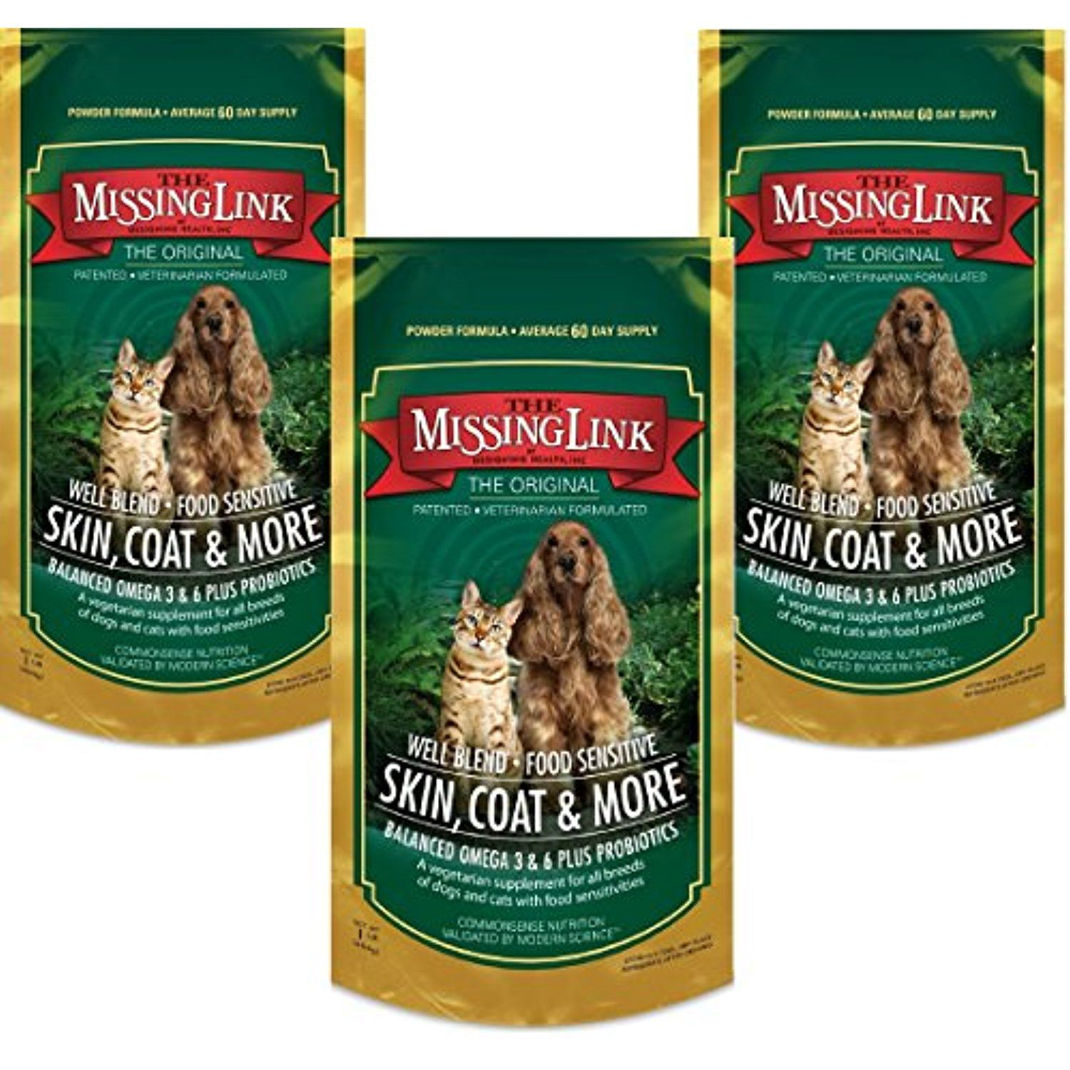 3 Pack Missing Link Well Blend Nutritional Supplement For Dogs And Cats 1lb Each To Check This Animal Nutrition Dog Supplements Nutritional Supplements