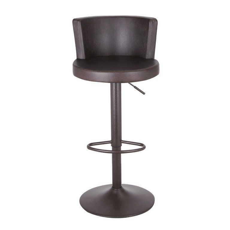 Interior Beautiful Adjustable Bar Stools Walmart From The