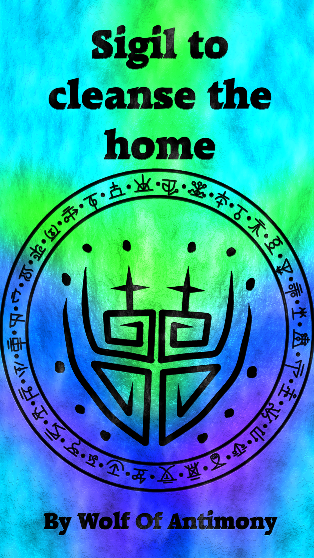 Sigil to cleanse the home Requested by @emmmajay | wiccan | Magic