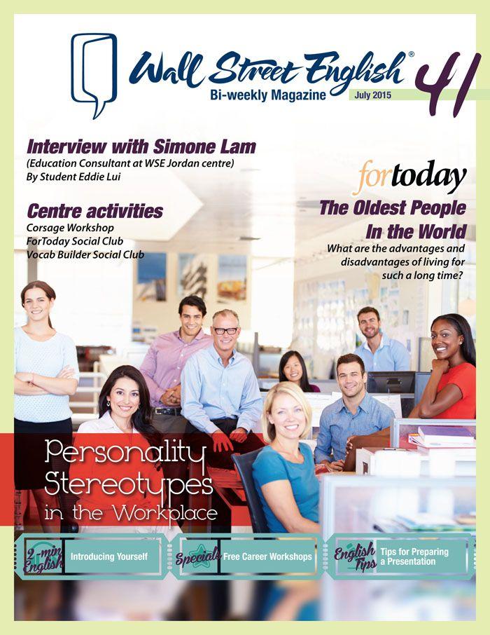 wall street english bi weekly magazine no 41 personality on wall street english id=22804