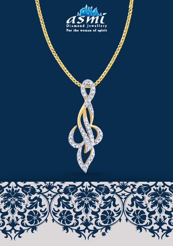 An asmi diamond pendant is the perfect accessory for a formal attire an asmi diamond pendant is the perfect accessory for a formal attire at work aloadofball Choice Image