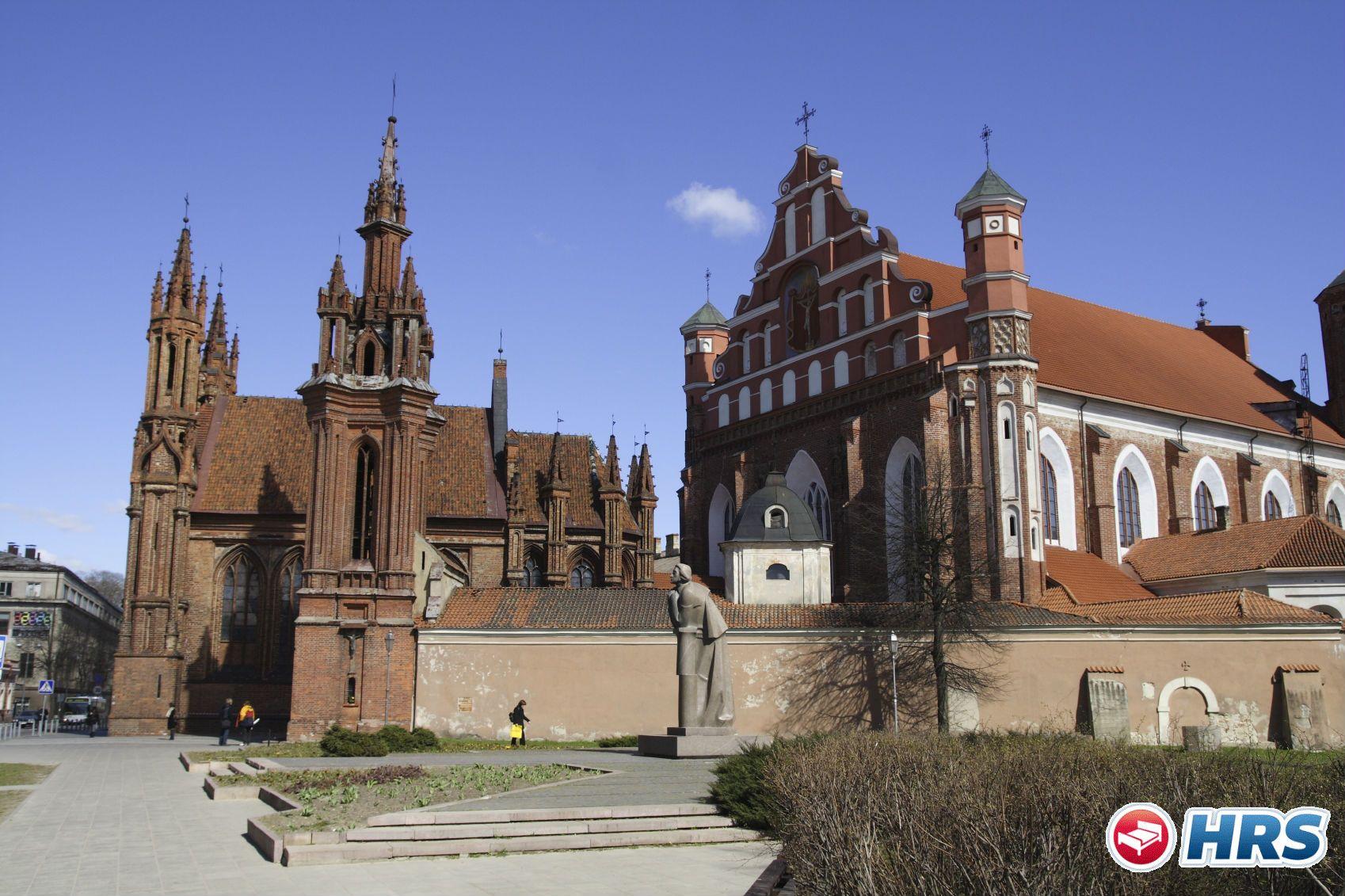 Die Hauptstadt #Litauens entdecken geht jetzt für den geringen Preis von 27€ das Doppelzimmer inklusive Frühstück! Schlendert durch die charmante Altstadt von #Vilnius, die 1994 zum UNESCO-Welterbe ernannt wurde.