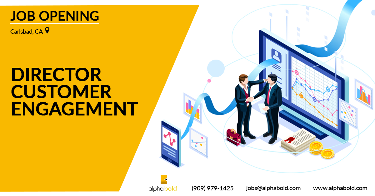 Job Director Customer Engagement Alphabold Customer