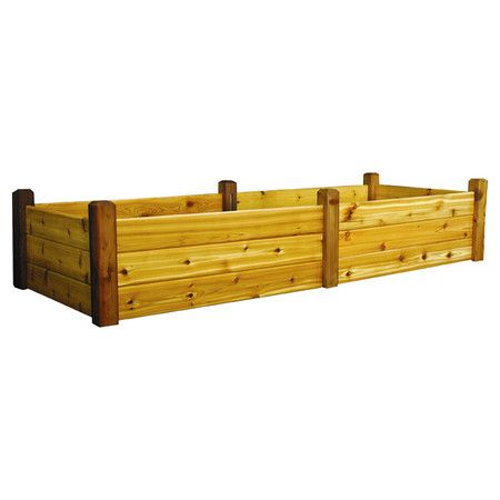 Found it at Wayfair Raised Garden Bed with Treated Wood