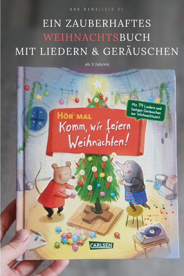 Kinderbücher Weihnachten.Komm Wir Feiern Weihnachten Mit Gesang Und Geräuschen