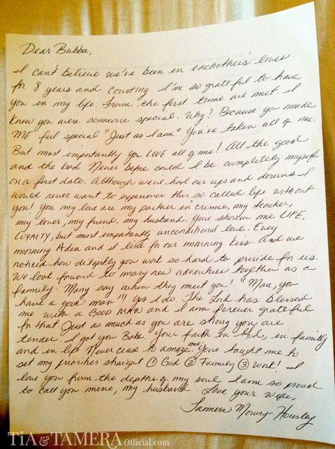 A Love Letter To Adam ღ☆ღTamera  Her Lil\u0027 Familyღ☆ღ - love letter to my husband