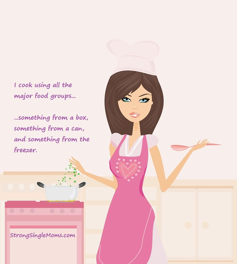single moms | Single Mom's Cooking Philosophy Strong_Single_Mom_Dinner ...