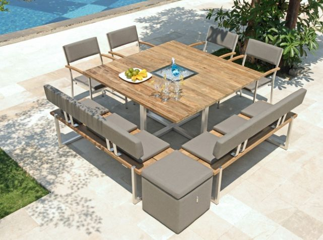 Grande Table En Bois Printemps 2016 Truffaut | Table de jardin en ...