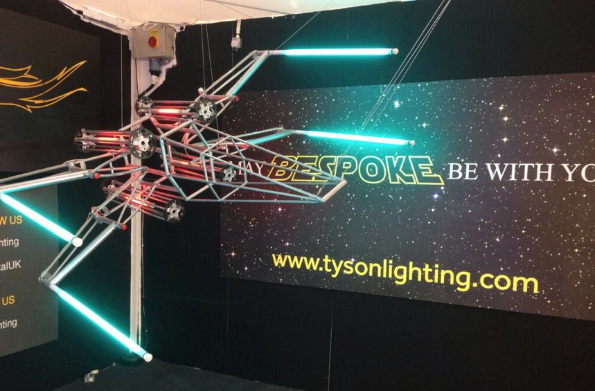 May bespoke be with you! @TysonLighting @May Design Series #thinktomorrow