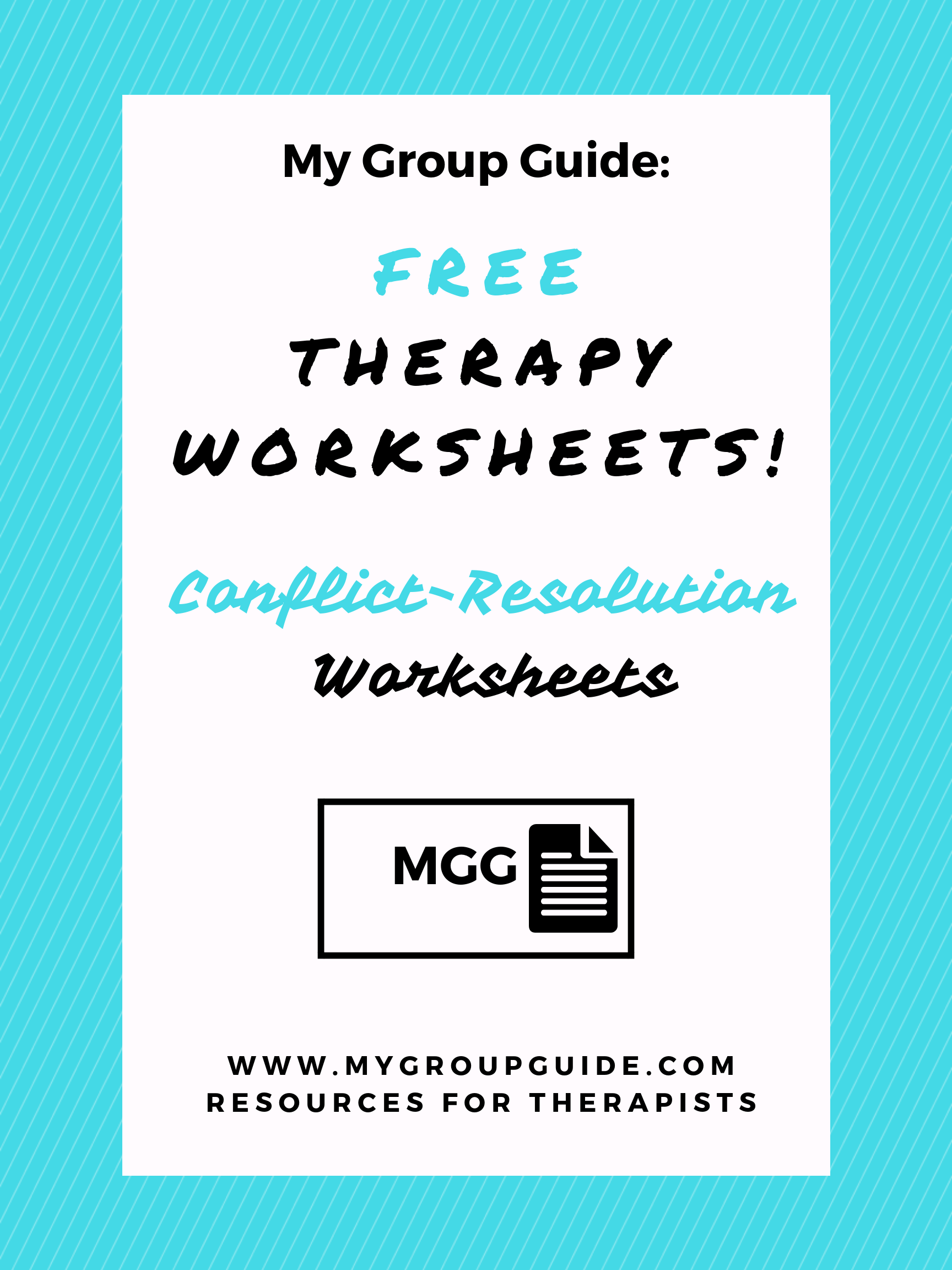Free Therapy Worksheets